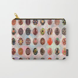 Pysanky Easter Eggs Carry-All Pouch