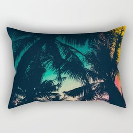 Infrared palms Rectangular Pillow