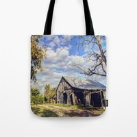 kentucky Tote Bags featuring Kentucky Barn by JMcCool