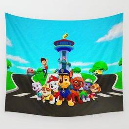 Paw Patrol Wall Tapestry