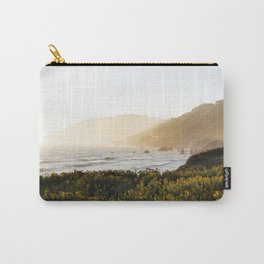 Route 1 along the Pacific Ocean in Northern California Carry-All Pouch
