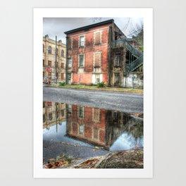 Savannah Bricks Art Print