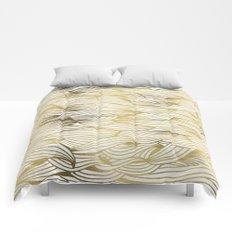 Golden Waves Comforters