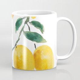yellow lemon 2018 Coffee Mug