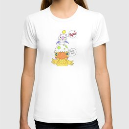 Moogle and Chocochick T-shirt