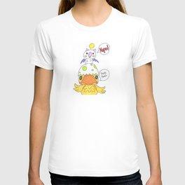 Moogle and Chocochick T-shirt