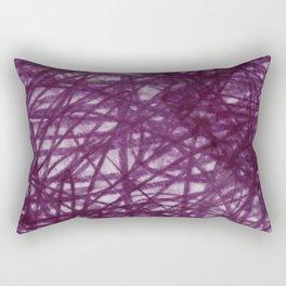 Ophelia Black Rectangular Pillow