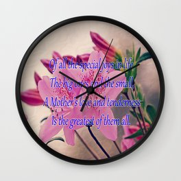Mothers Day - Special Joy Wall Clock