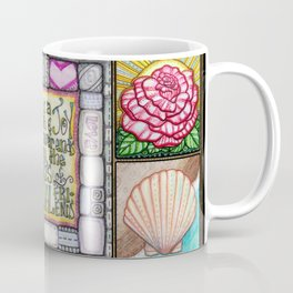 My Patchwork Friendship Squares Coffee Mug