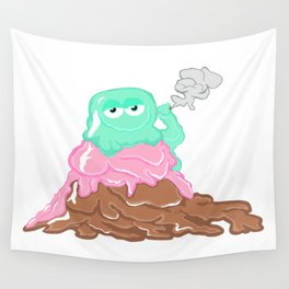 Scoopz: Rolling Fat Pints Wall Tapestry
