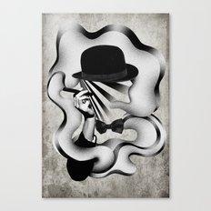 gentle smoke Canvas Print