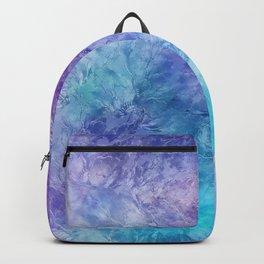 Frozen Leaves 12 Backpack