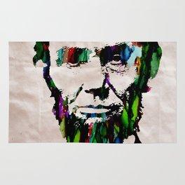 Abraham Lincoln 2017 Watercolor President Art Painting Pop ART Rug