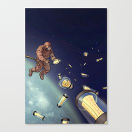 Messages from Space Canvas Print