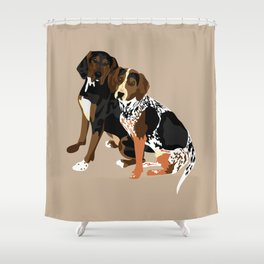 Marlowe and Gracie Shower Curtain