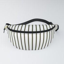 Garden Boot Grey Pinstripe on White Fanny Pack