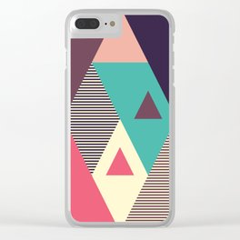 Ethnic Clear iPhone Case