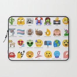 Emojis I wish Existed Laptop Sleeve