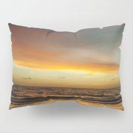 Florida Beach Sunset Pillow Sham