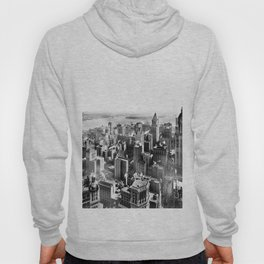 New York South from Woolworth Building 1913 Hoody