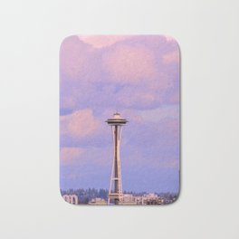 Seattle Space Needle Bath Mat