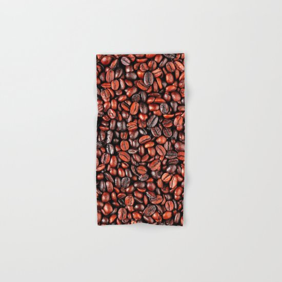 Coffee beans Hand & Bath Towel