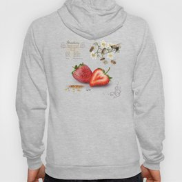 Strawberry and Pollinators Hoody
