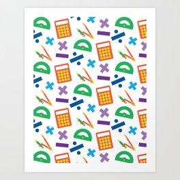Mathematician Art Print