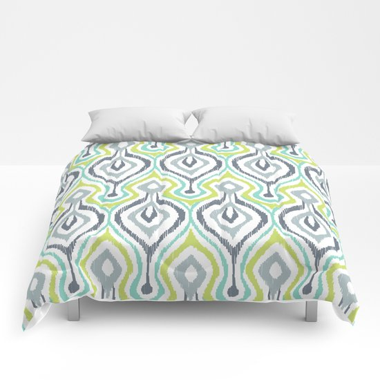 Sketchy IKAT Comforters