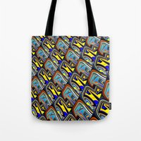 scales Tote Bags featuring Scales by David  Gough