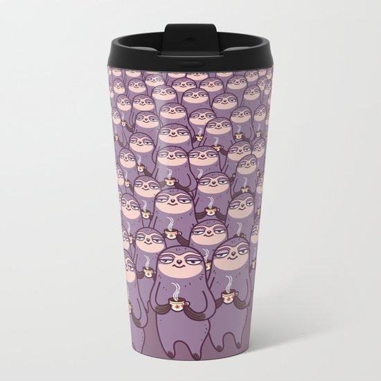 Sloths -tastic! Metal Travel Mug