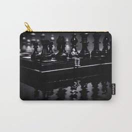 Contemplating Your Next Move when reflecting make sure your memories are clear Carry-All Pouch