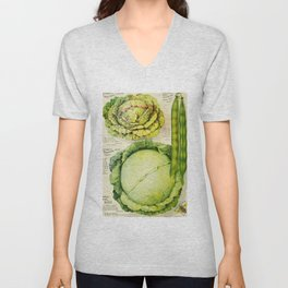 Vintage Vegetable Advertisement (1907) Unisex V-Neck