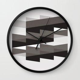 Aronde Pattern #02 Wall Clock