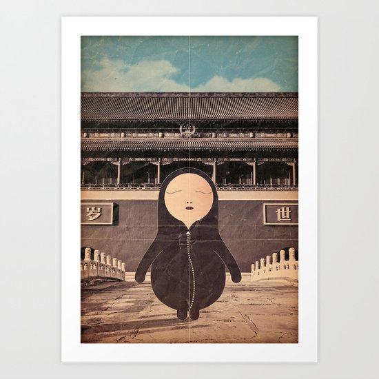 Lu_wei Art Print