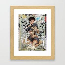 Good Boy! Framed Art Print