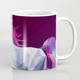 Geometric Unicorn Coffee Mug