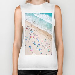 Colors of Manhattan Beach California Biker Tank