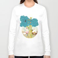 insect Long Sleeve T-shirts featuring Insect Sushi by nzall