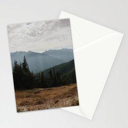 Olympic Mountains, Washington (2018) Stationery Cards