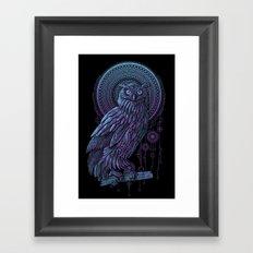 Owl Nouveau II Framed Art Print