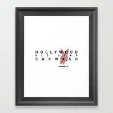 Hollywood Carwash Framed Art Print