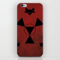 digimon iPhone & iPod Skins featuring Guilmon by JHTY
