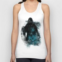 bane Tank Tops featuring Abstract BANE by DesignLawrence
