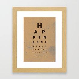 Happiness (2) Framed Art Print