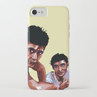 scarface iPhone & iPod Cases featuring Scarface by Taylor Gonzales