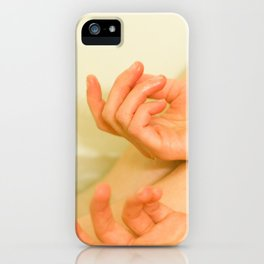 """don't you want your heart eaten?"" asked the fire. iPhone Case"