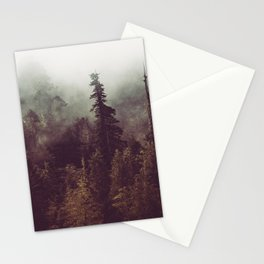 Mountain Morning Mist - Nature Photography Stationery Cards