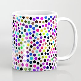 Fun Colorful Dots Pattern Coffee Mug