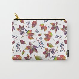Autumn Grapes Carry-All Pouch